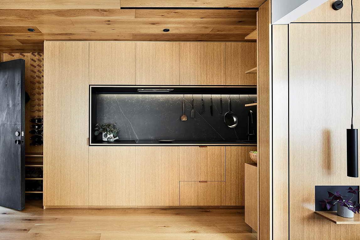Rejtett dizájn trükkök mni lakásban kis lakásban - konyha