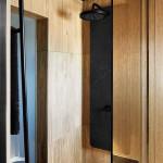 Rejtett dizájn trükkök mni lakás kis lakás - fa hatású fürdőszoba