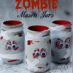zombi edény - Halloween dekoráció dísz