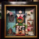 kreatív karácsonyi dekoráció - ráma kép