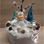 kreatív karácsonyi dekoráció