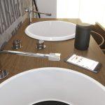 Lemezjátszó mosdó kerámia