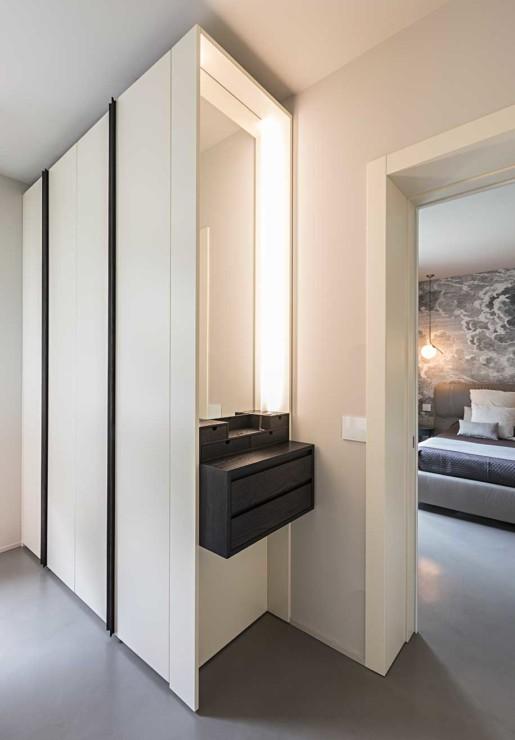 Natrual design lakás gardrób