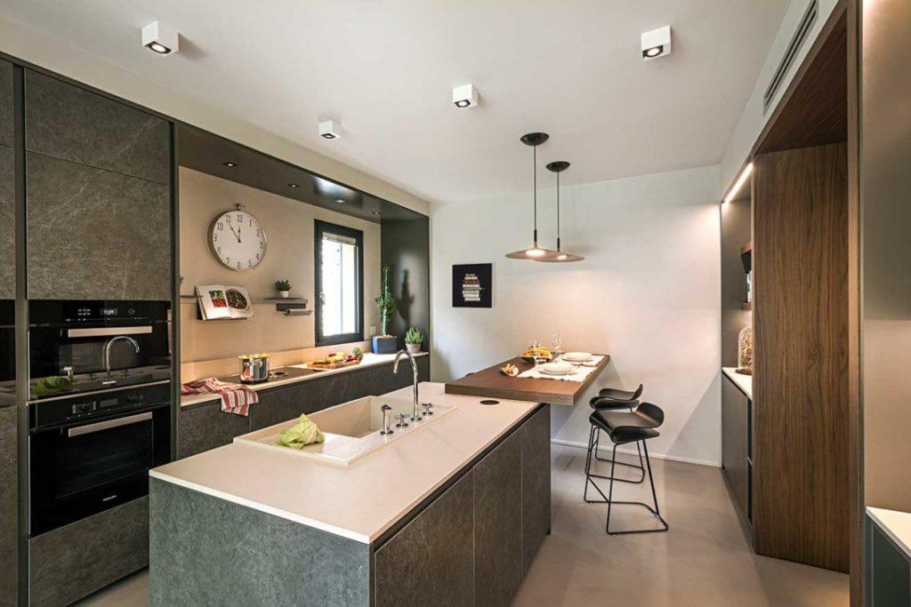 Natrual design lakás konyha