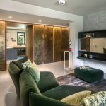 Natrual design lakás nappali