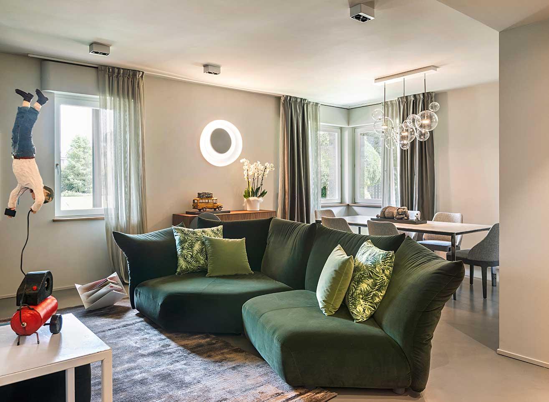 Natrual design lakás