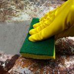 odaégett kozmás edény tisztítása mosogatás